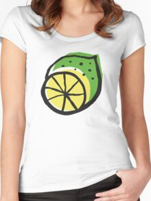 Summer energy Women's Fitted Scoop T-Shirt