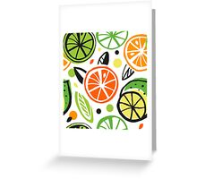 Summer energy Greeting Card