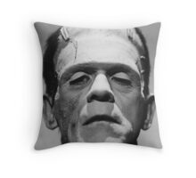 Frankenstein's Monster Karloff Throw Pillow