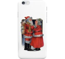 Vintage Mr and Mrs Claus iPhone Case/Skin
