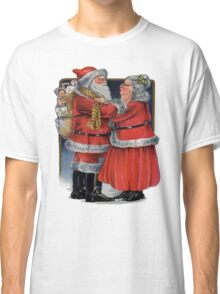 Vintage Mr and Mrs Claus Classic T-Shirt