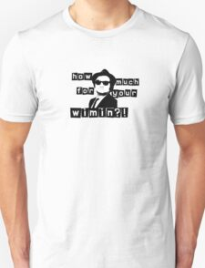 How Much For Your Wimin? T-Shirt