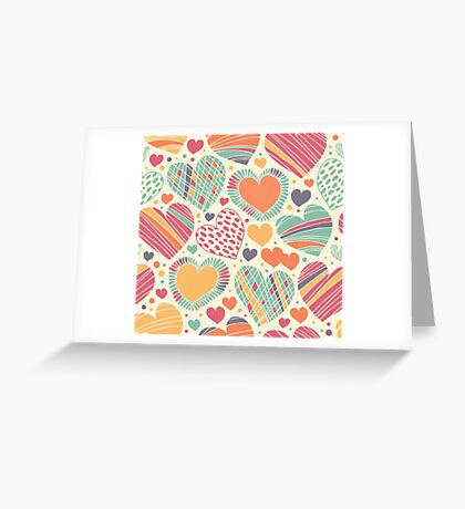 Shades of feelings Greeting Card