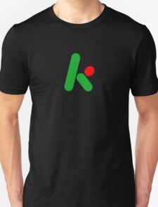2D version of The Krypton Factor logo T-Shirt