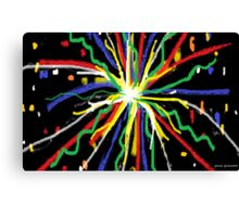 """Baby, You're a Firework"" Canvas Print"