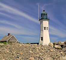 Scituate Lighthouse by Janice Drew