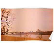 Hudson River. New York Poster
