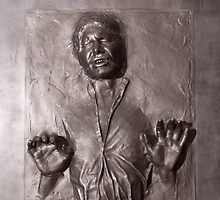 Han Solo Carbonite by Ximoc