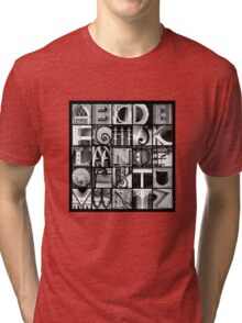 Savannah Alphabet Tri-blend T-Shirt