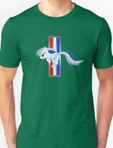 Rainbow Dash Tri-Bar (Original Color Left) Unisex T-Shirt