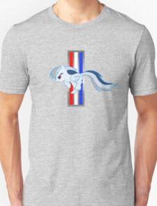 Rainbow Dash Tri-Bar (Original Color Left) Unisex T-Shirt