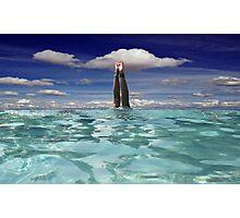 Sky Dive! Photographic Print