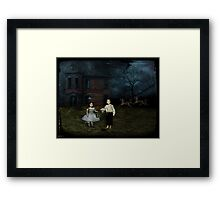 how close am i to losing? Framed Print