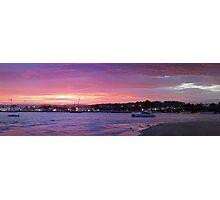 Batemans Bay night panorama Photographic Print