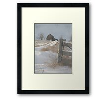 The Old Clark Place Framed Print