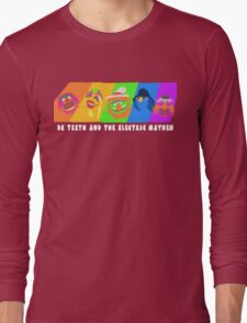 Dr Teeth and the Electric Mayhem Rainbow (The Muppets) Long Sleeve T-Shirt