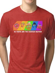 Dr Teeth and the Electric Mayhem Rainbow (The Muppets) Tri-blend T-Shirt
