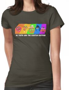 Dr Teeth and the Electric Mayhem Rainbow (The Muppets) Womens Fitted T-Shirt