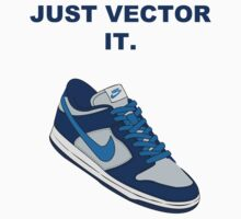 NIKE VECTOR BLUE by fLeMo1