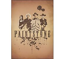 Paintstone Photographic Print