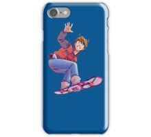 Mcfly on Hoverboard iPhone Case/Skin