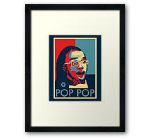 POP POP Framed Print