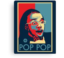 POP POP Canvas Print
