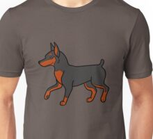 Black Miniature Pinscher Unisex T-Shirt