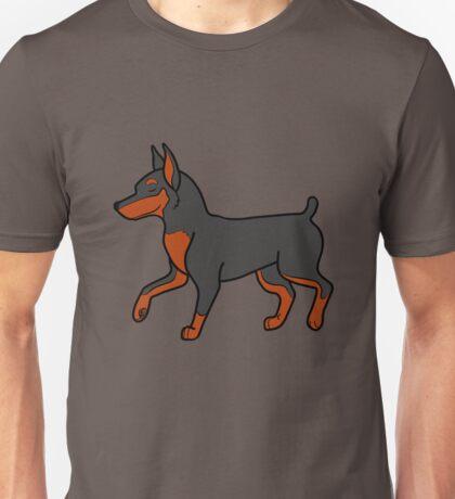 Black Miniature Pinscher Unisex T-Shirt