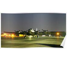 B-17 Memphis Belle in Smyrna TN  Poster
