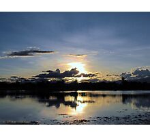 Glorious western Queensland sunset Photographic Print