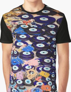 Protection From The Evil Eye - Boncuk Amulet Graphic T-Shirt