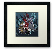 """Seduce and Destroy"" Framed Print"