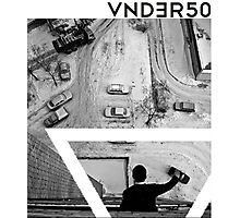 VNDERFIFTY PLAYING WITH TOY CARS Photographic Print