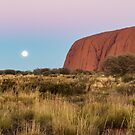 Moonrise at Uluru by Pauline Tims