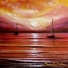 Sailing into the Sun by Cherie Roe Dirksen