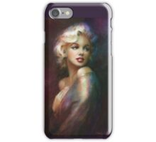 Theo Danella´s Marilyn WW colour iPhone Case/Skin