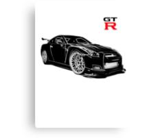 Skyline GTR  Canvas Print