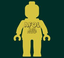 Minifig with 'AFOL I See Minifig People' Slogan by Customize My Minifig by ChilleeW
