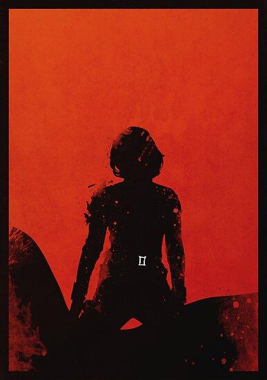 Black Widow [minimalist poster] by finnickodair