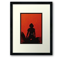 Black Widow [minimalist poster] Framed Print