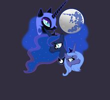 Three Luna Moon Unisex T-Shirt
