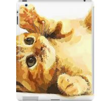 Wild nature - kitty iPad Case/Skin