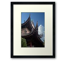 Chinese Architecture Framed Print