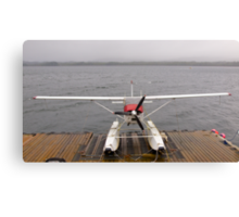 Alaskan transport, Cessa 180 floatplane, Ketchikan, Alaska. Canvas Print