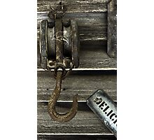 Pulleys and Hoists Photographic Print