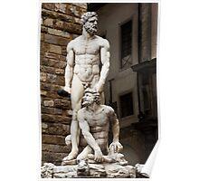 Hercules & Cacus Poster