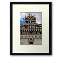 Lucca Cathedral Framed Print