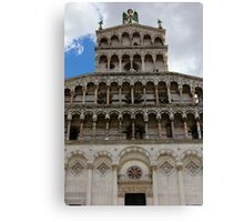 Lucca Cathedral Canvas Print
