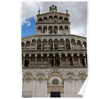 Lucca Cathedral Poster